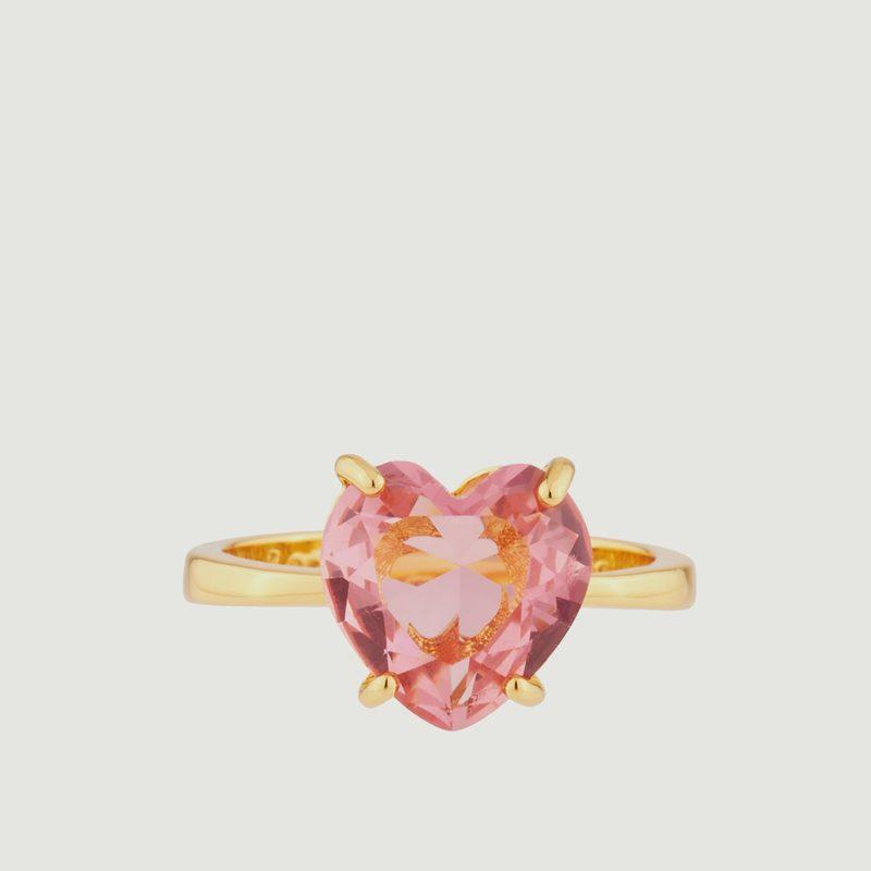 Bague Diamantine Cœur - Les Néréides