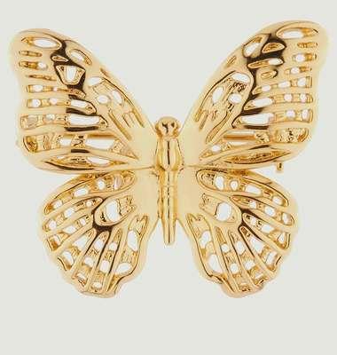 Broche Papillon Ajouré