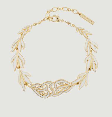 Bracelet Plumes De Cygne