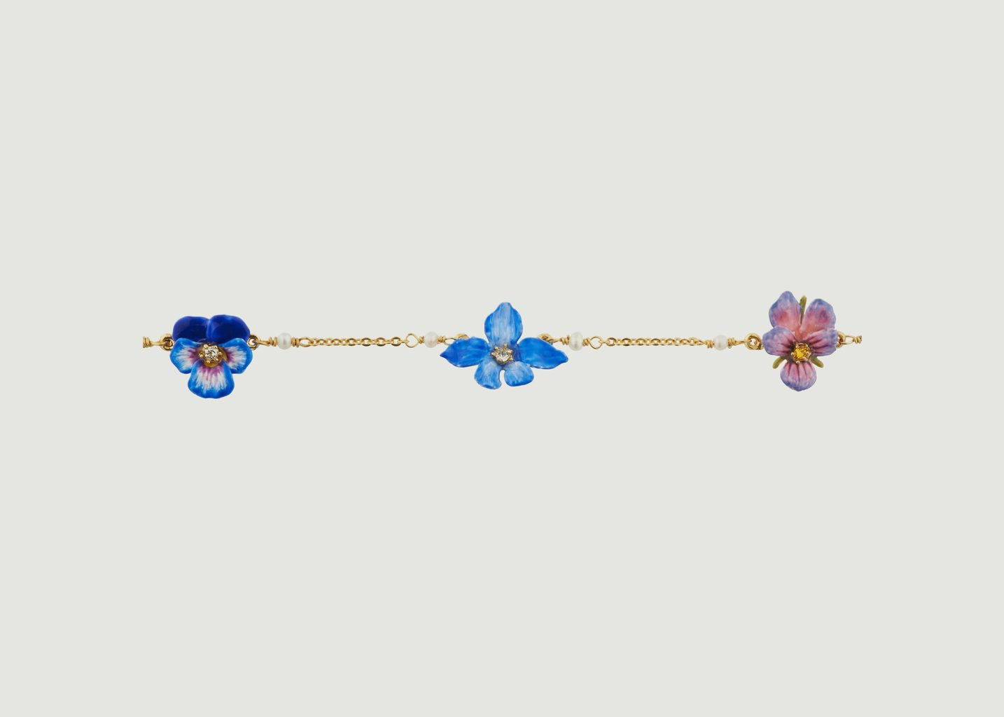 Bracelet Fin Pensée - Les Néréides