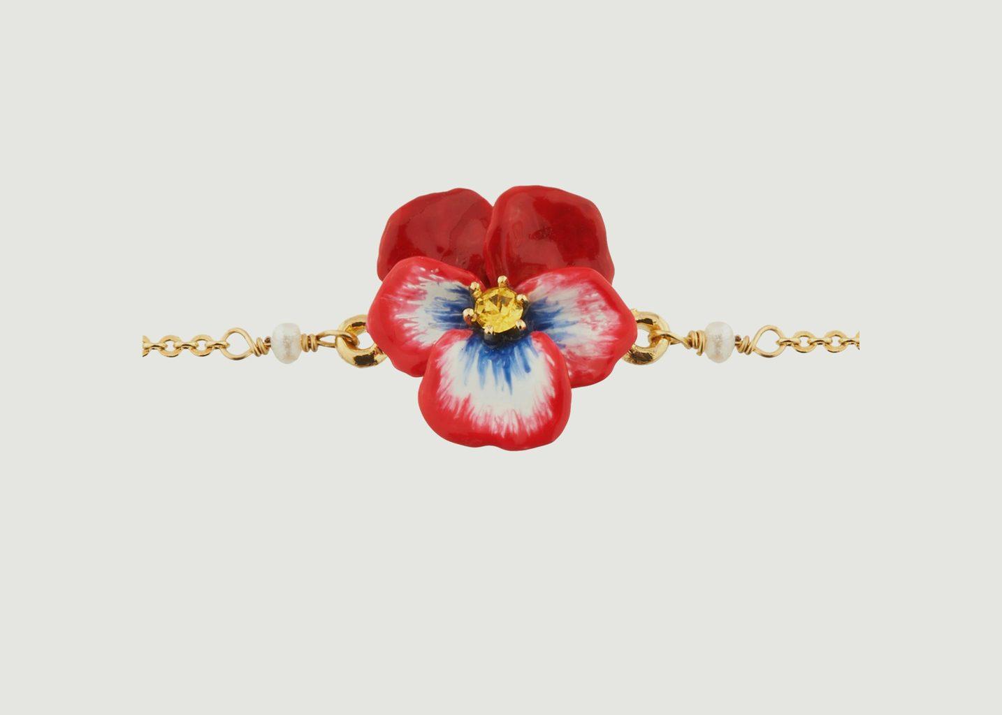 Bracelet Pensées - Les Néréides