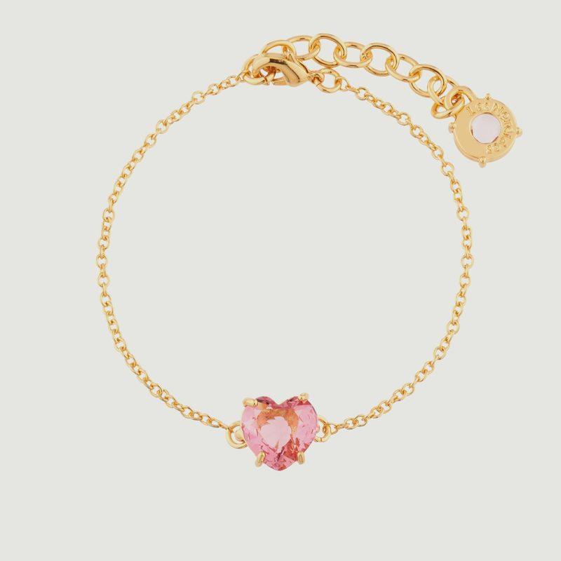 Bracelet Diamantine Coeur - Les Néréides