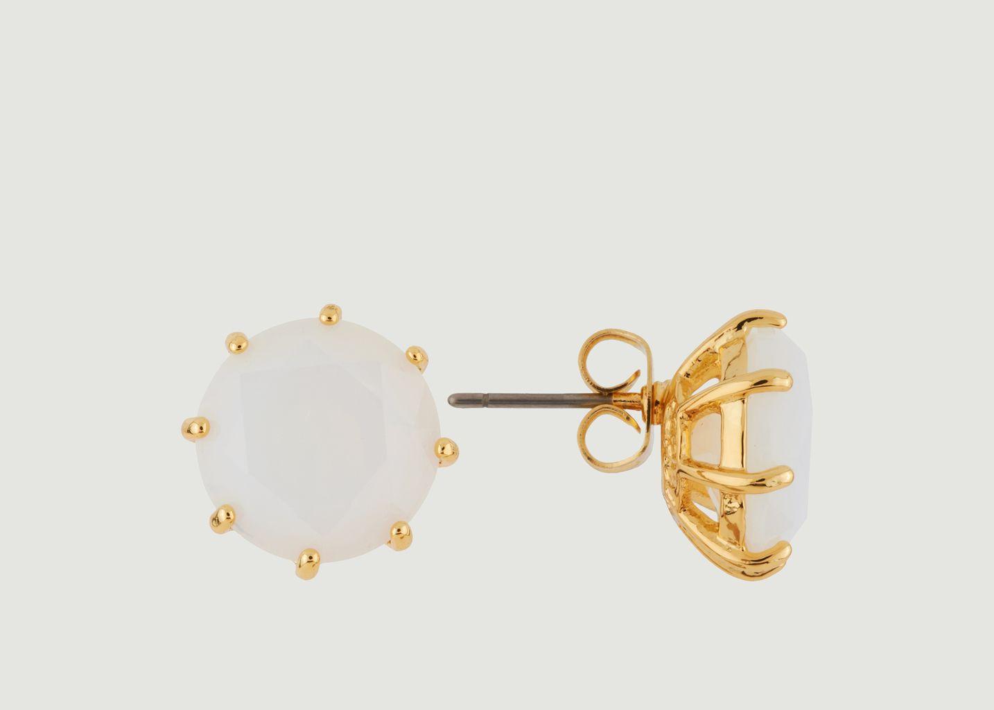 Boucles d'Oreille La Diamantine - Les Néréides