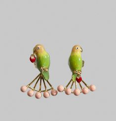 Inseparable Lovebird Earrings