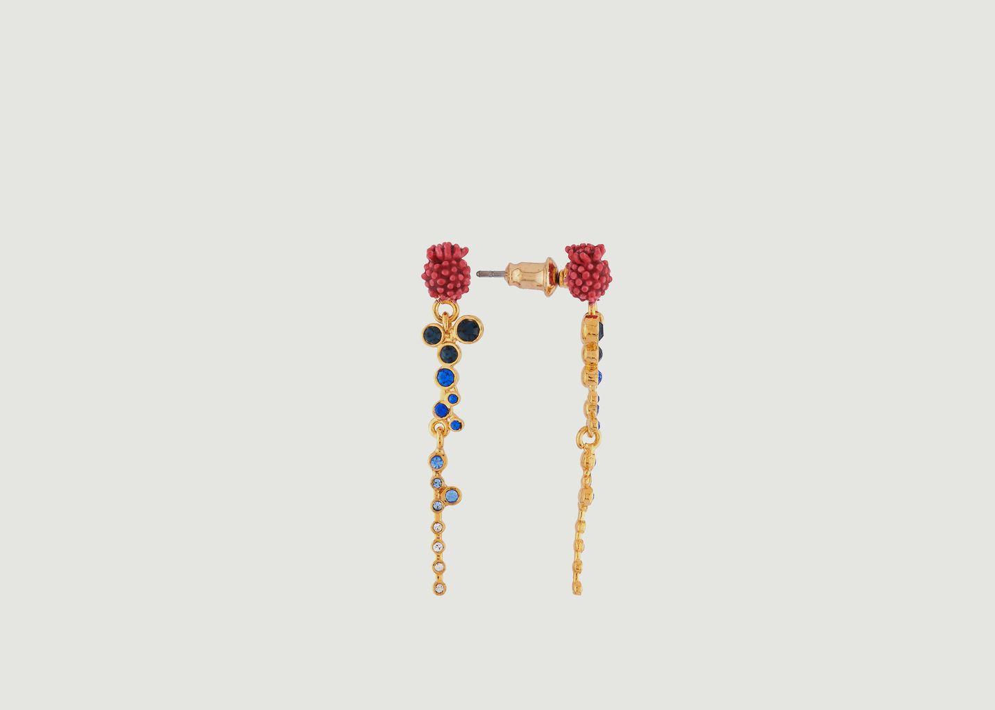 Boucles d'Oreilles Fleurs Pendantes - Les Néréides