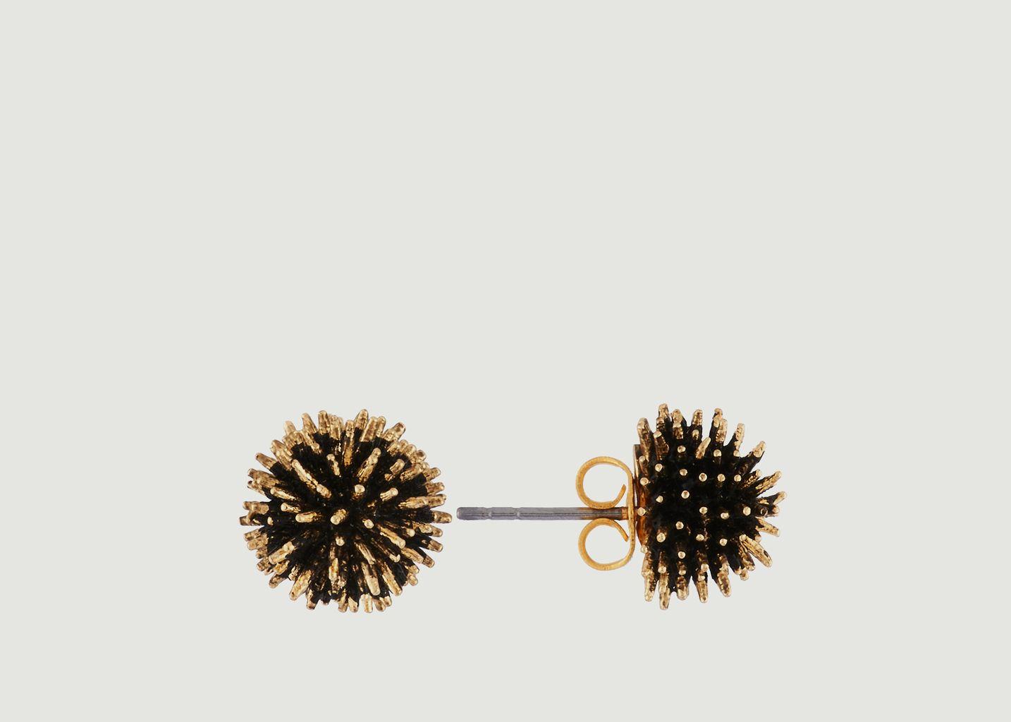 Boucles d'Oreilles Oursins - Les Néréides