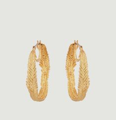 Goéland Feather Earrings