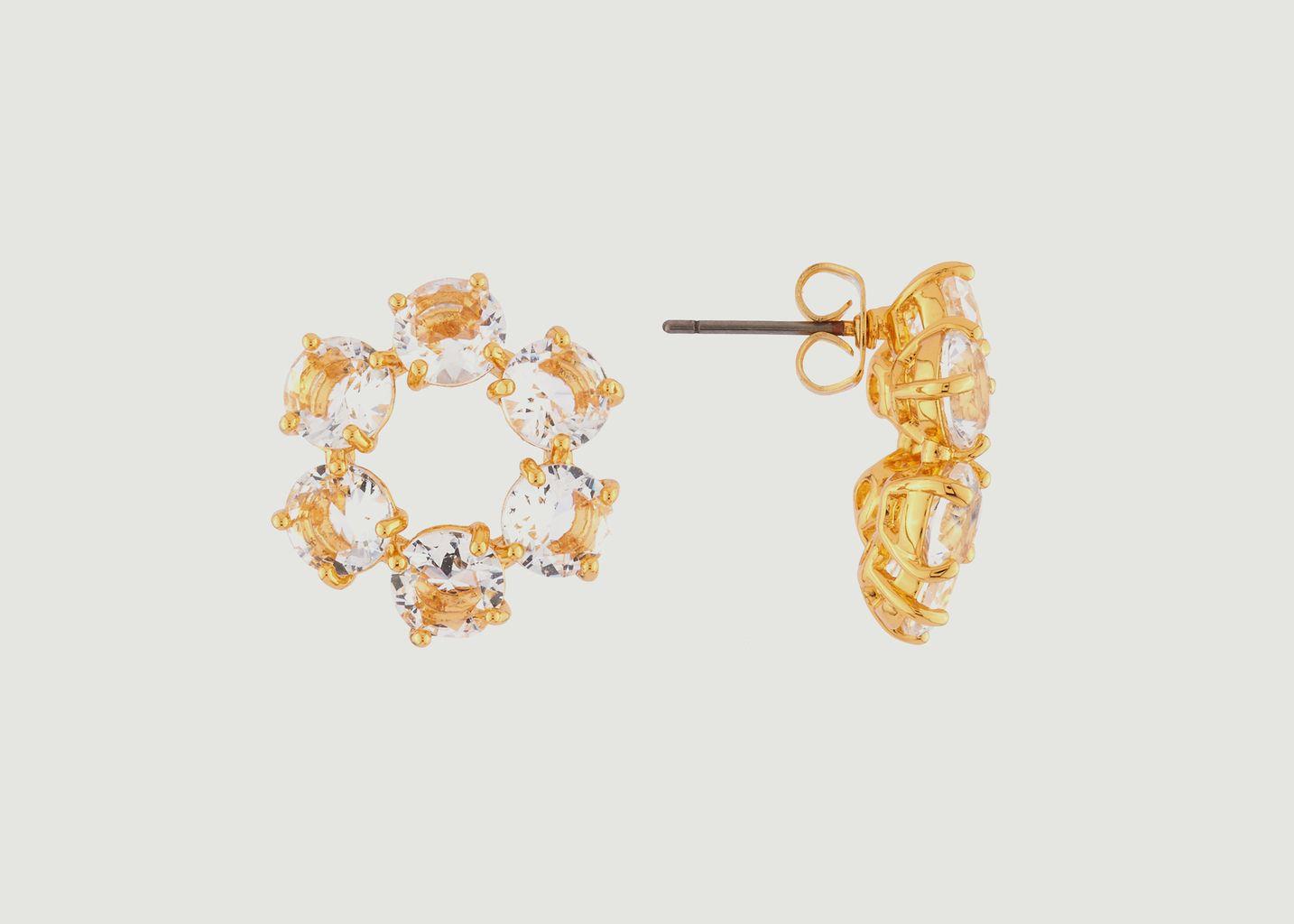 Boucles d'Oreilles Diamantine - Les Néréides