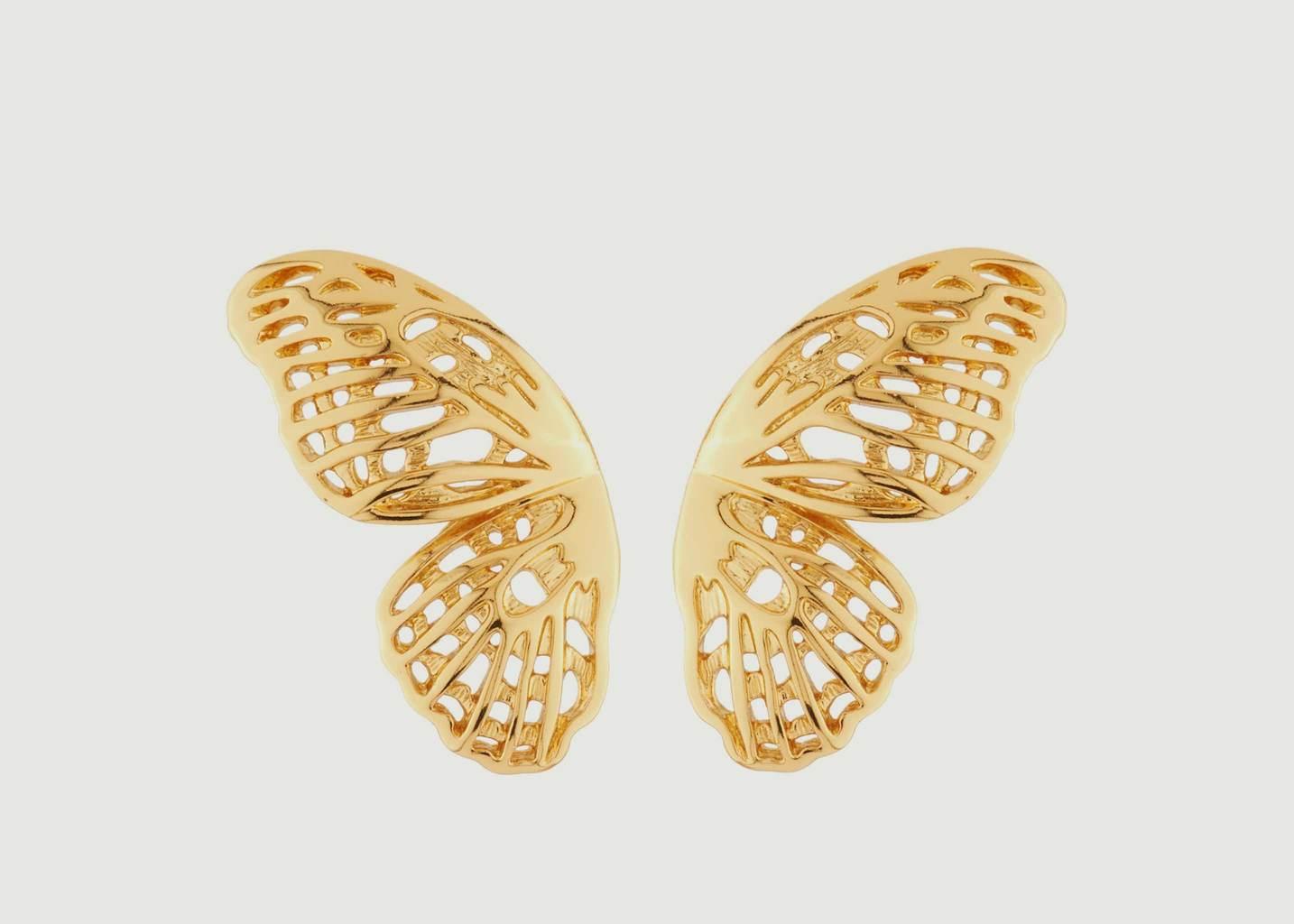 Boucles D'Oreilles Ailes De Papillon - Les Néréides