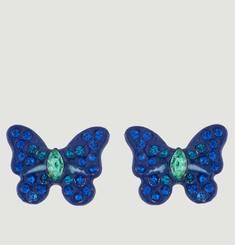 Boucles D'Oreilles Papillon Avec Pierres