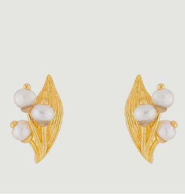 Boucles d'oreilles tige Muguet
