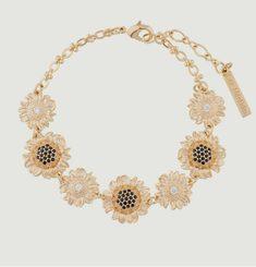 Sunflowers bracelet Les Néréides