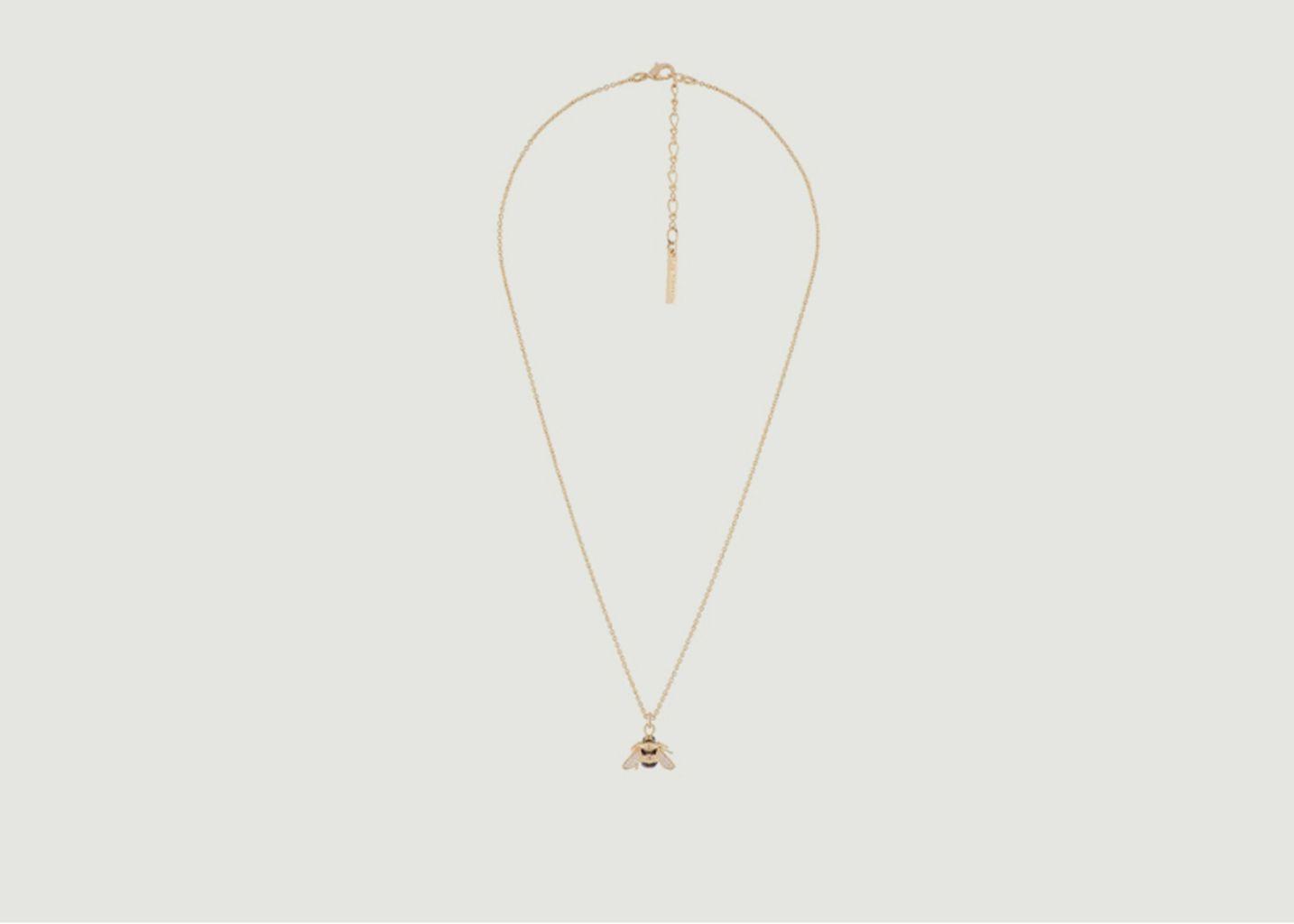 Collier chaîne et pendentif bourdon - Les Néréides