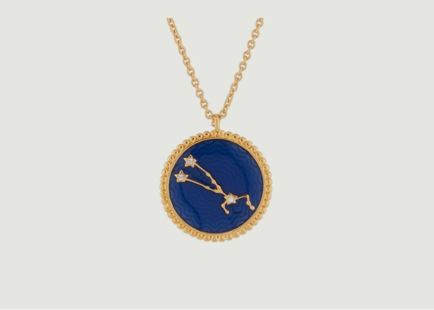 Collier signe astrologique Taureau - Les Néréides