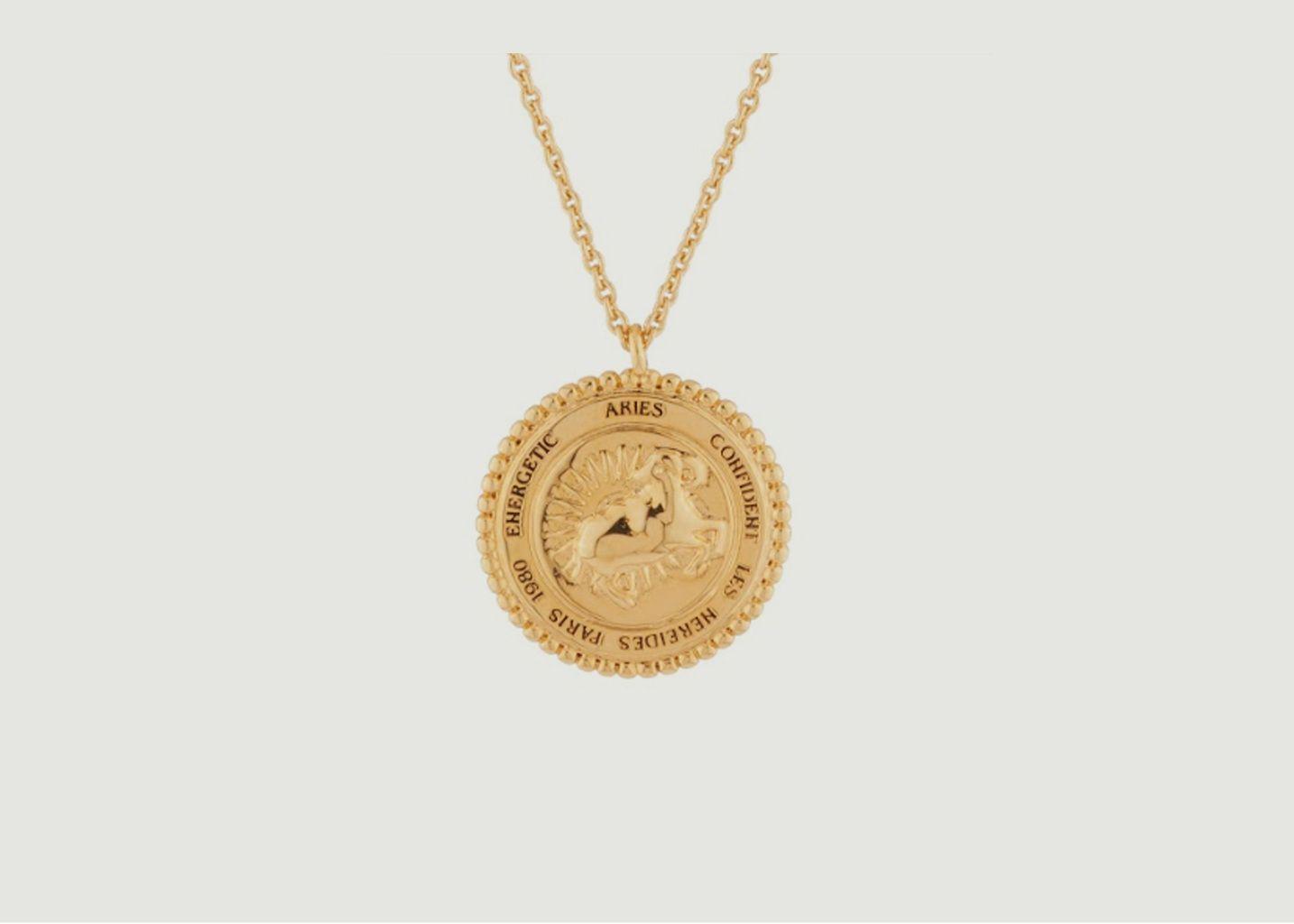 Collier signe astrologique Bélier - Les Néréides
