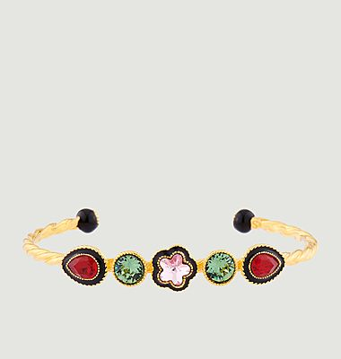 Indian flower bangle bracelet