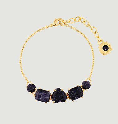 Bracelet fin 5 pierres La Diamantine
