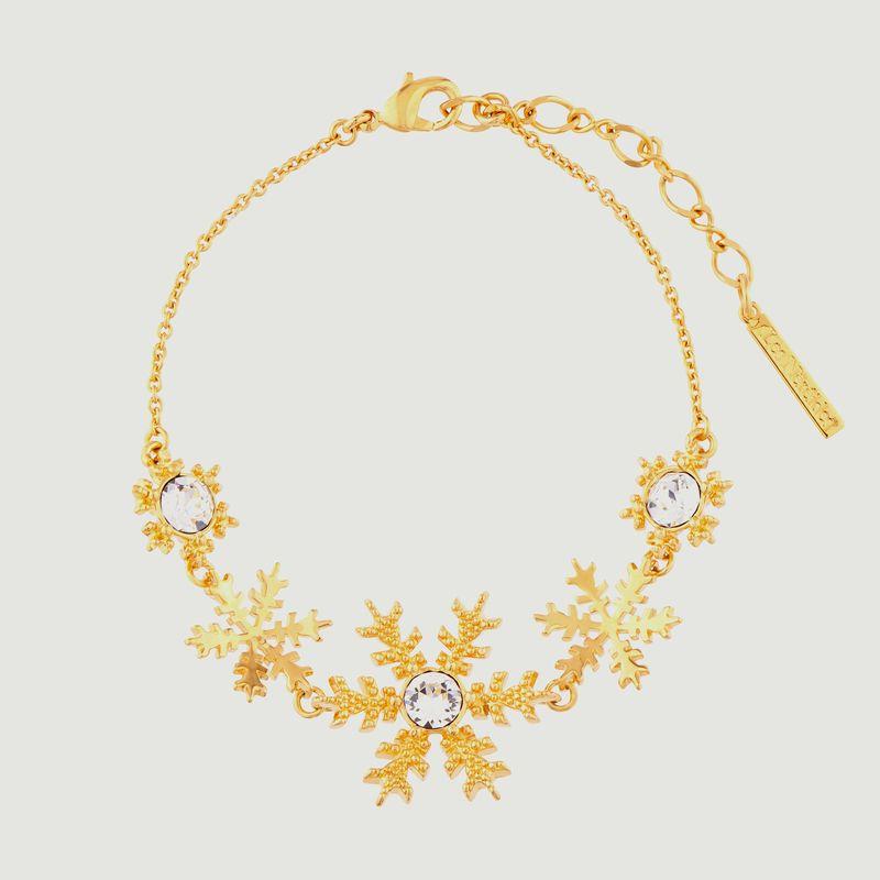 Bracelet fin ajustable flocons de neige - Les Néréides