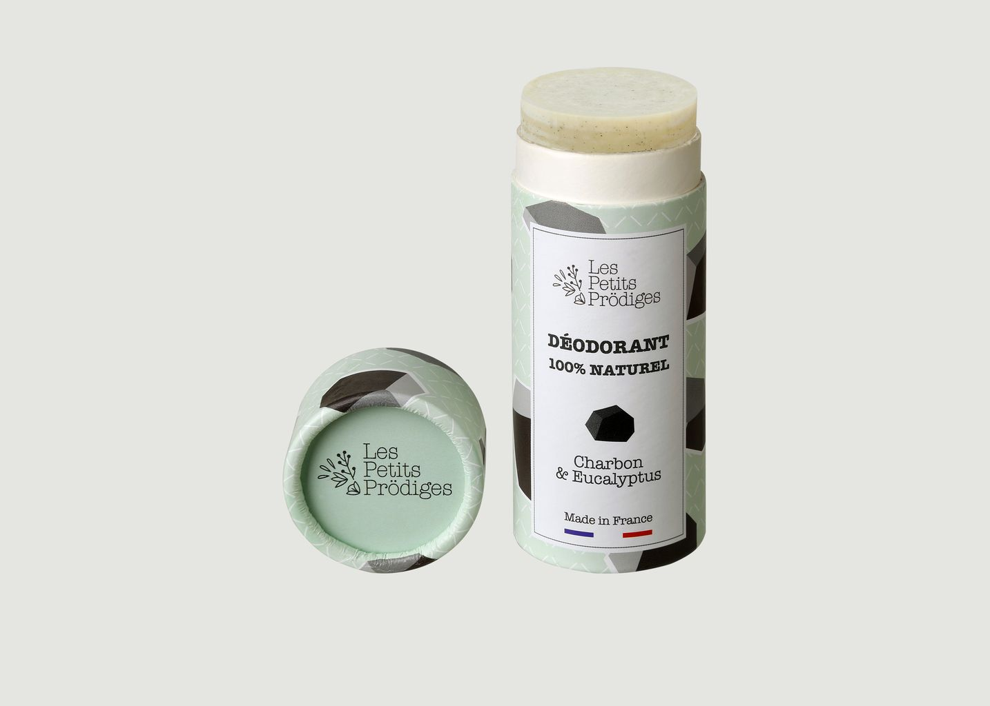 Déodorant Charbon et Eucalyptus 65g - Les Petits Prödiges