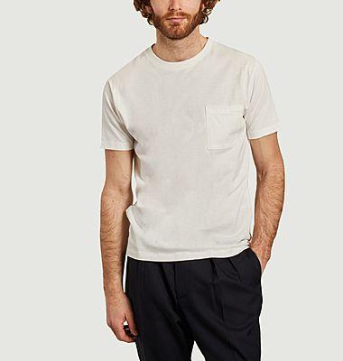 T-shirt en coton à poche