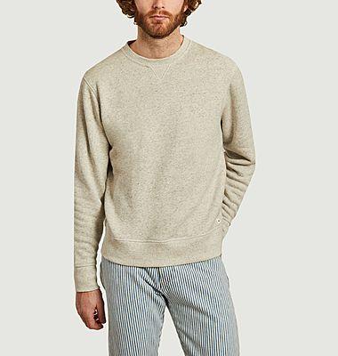 Sweatshirt en coton coupe relax