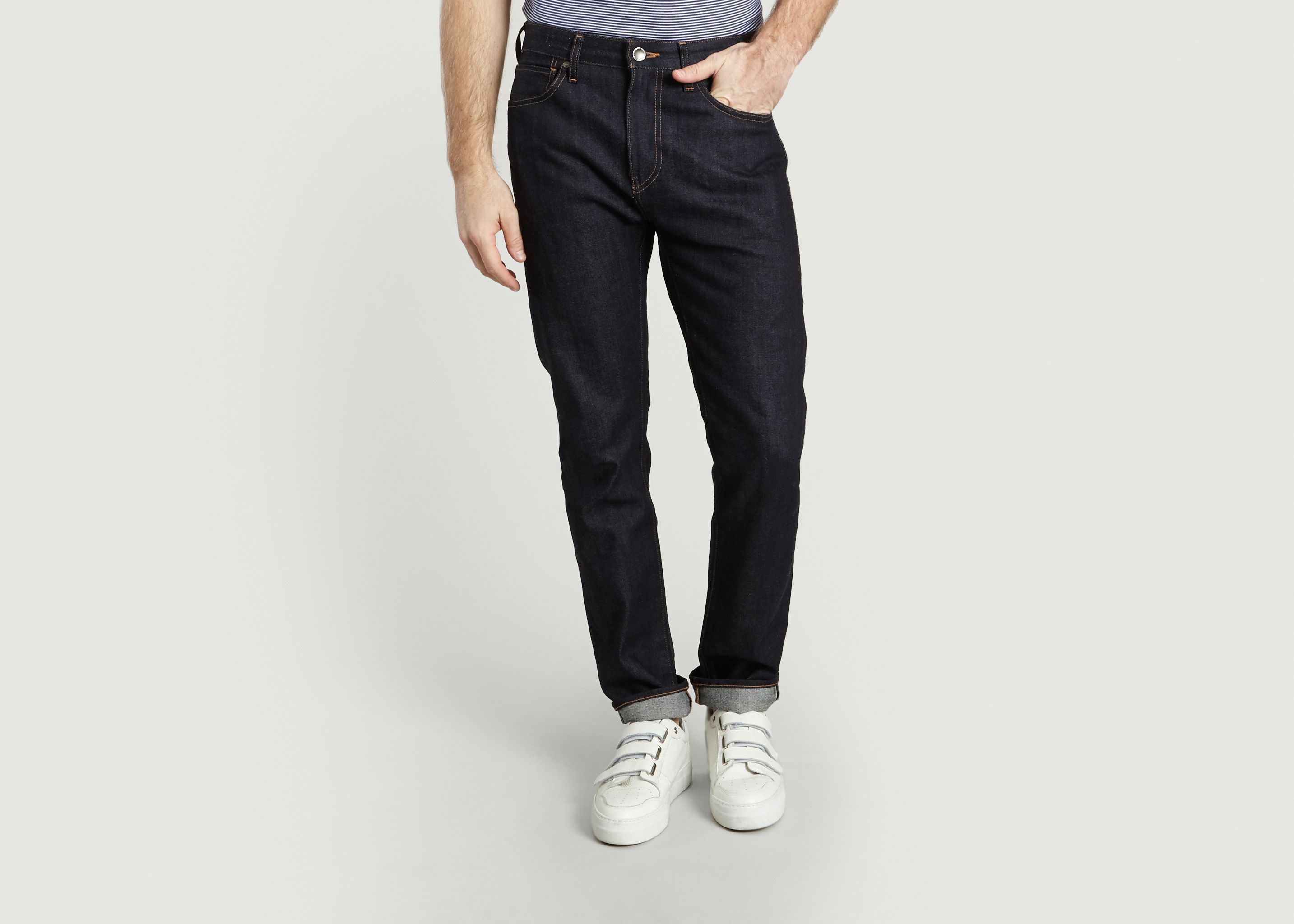 61a6ce8d Slim Tack Selvedge Jeans Raw Levi's Made and Crafted | L'Exception