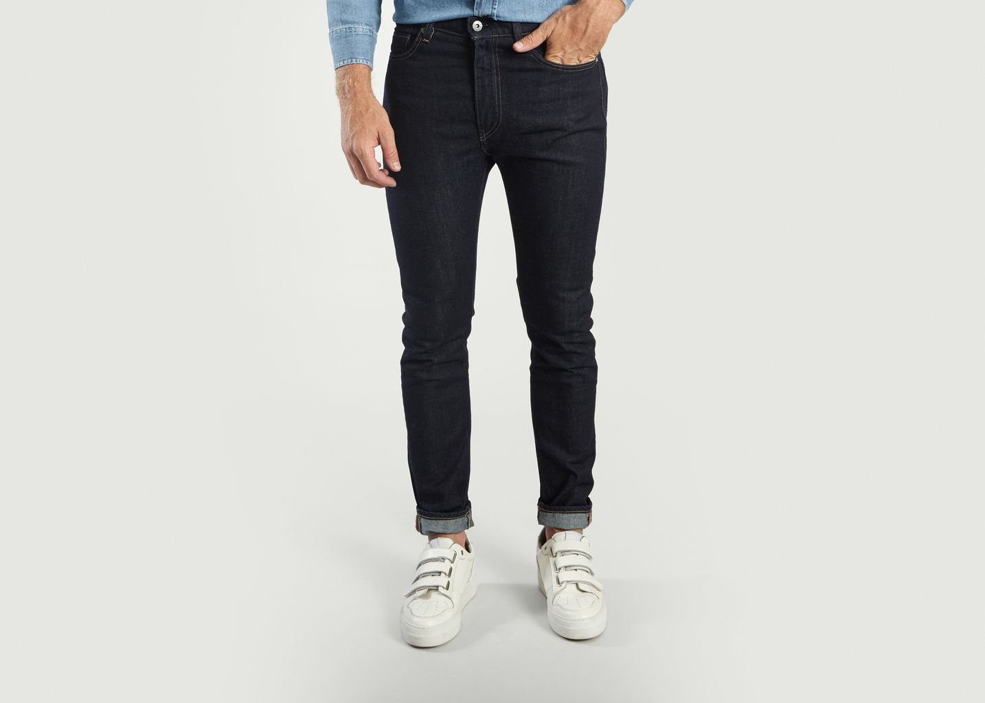 4b5f1167 Skinny 510 Jeans Indigo Levi's Made and Crafted | L'Exception