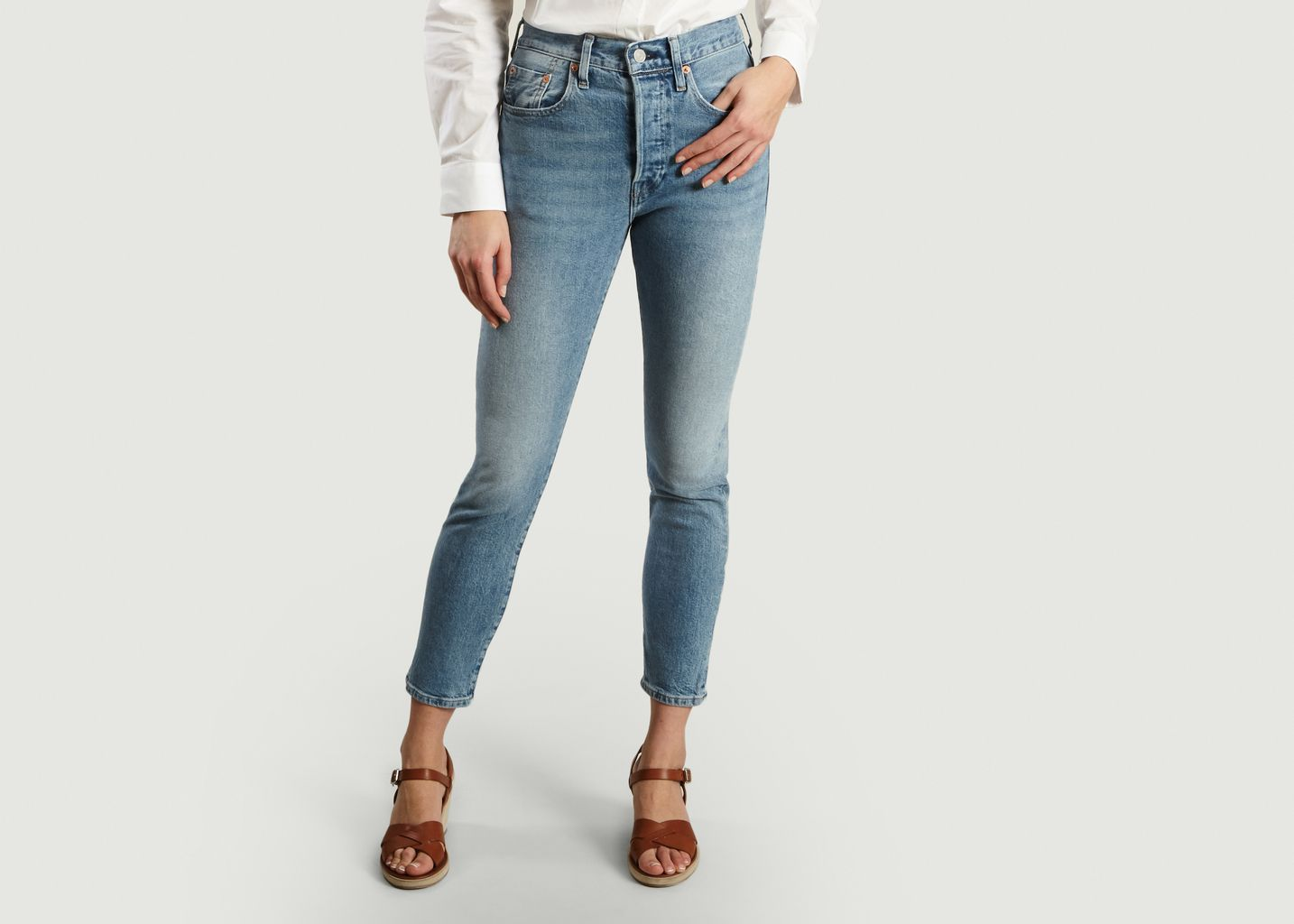 4afb601d83 501 Skinny Jeans Denim Levi s Made and Crafted