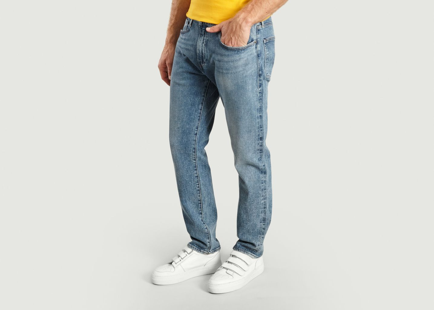 Jean 502 Selvedge Toile Refibra - Levi's Made and Crafted