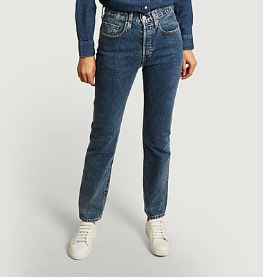 501 straight jeans