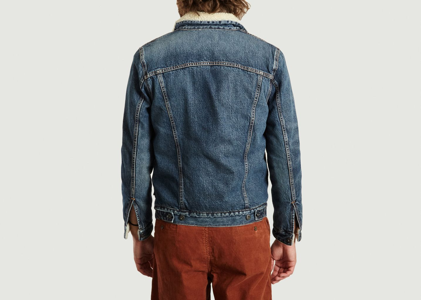 Blouson En Jean Type II Sherpa - Levi's Made and Crafted