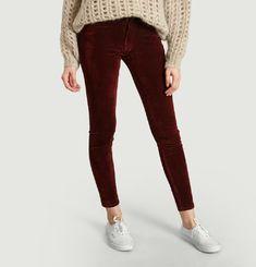 Pantalon En Velours Skinny 7/8e 721