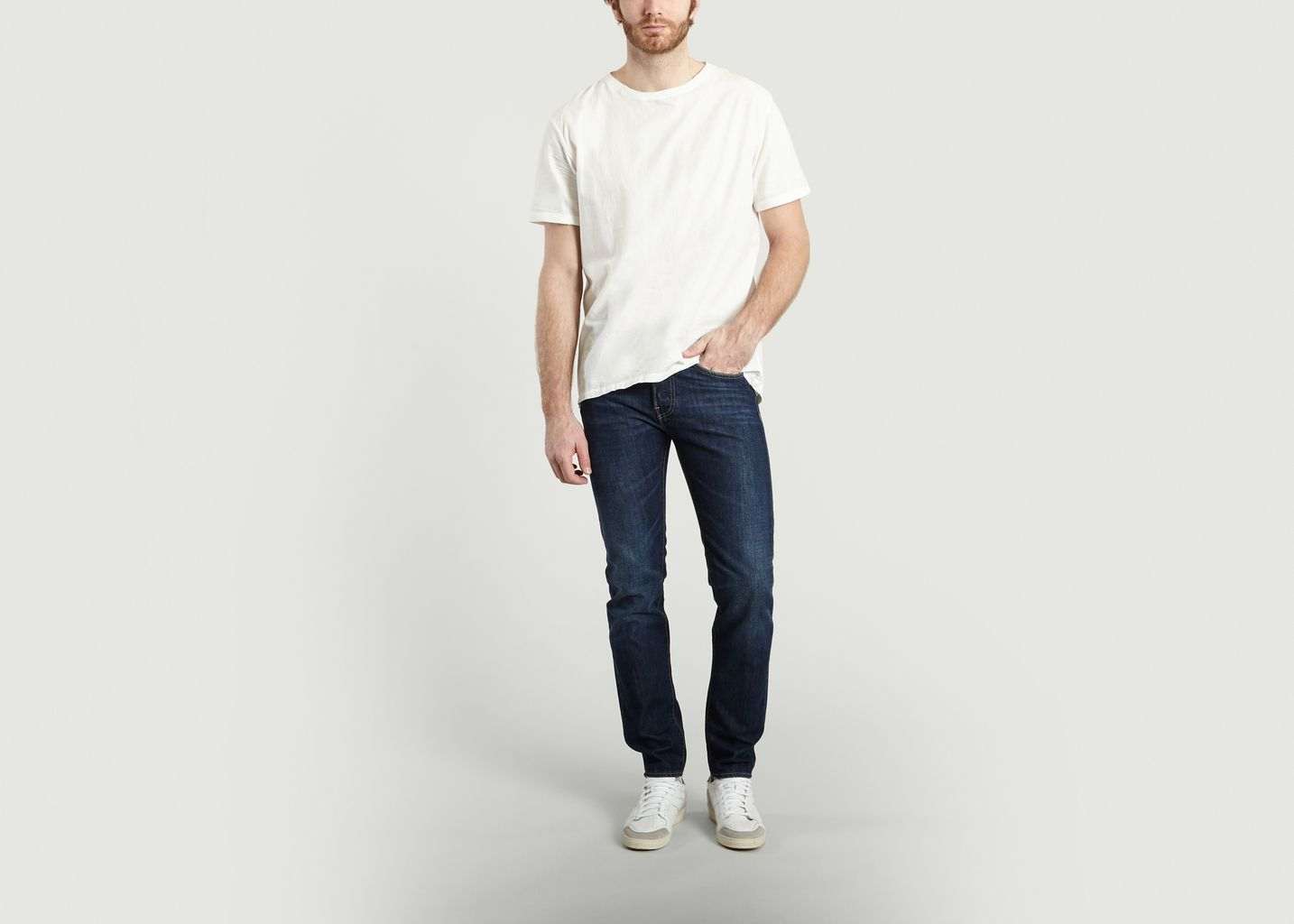 95e303034750 Peskowitz Woven T-shirt White Levi s Made and Crafted