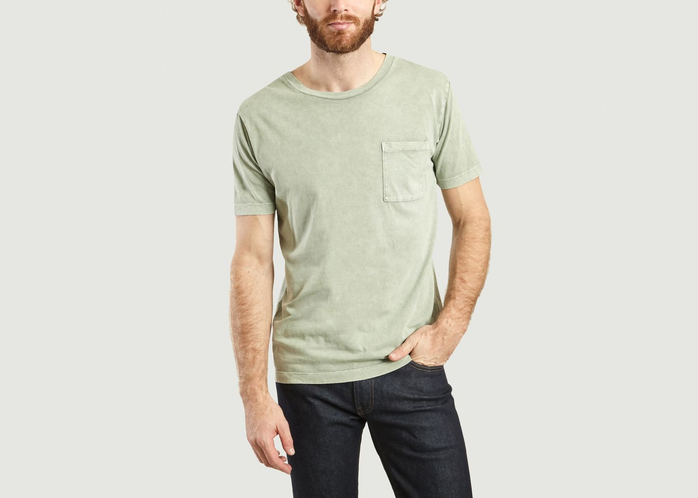 T-Shirt En Coton A Poche - Levi's Made and Crafted