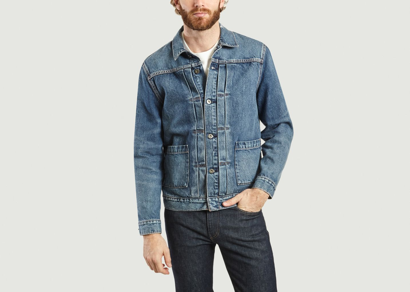 Veste En Jean Type 2 Coton Bio - Levi's Made and Crafted