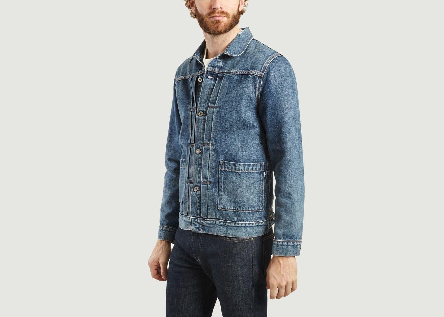 Veste En Jean Type 2 Coton Bio - Levi's M&C