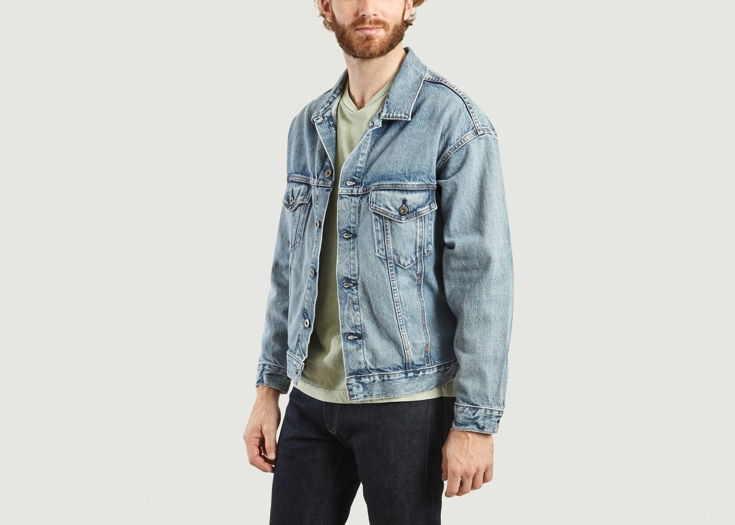 Veste En Jean Oversize Type 3 - Levi's Made and Crafted