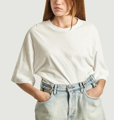 T-Shirt Oversize Manches 3/4