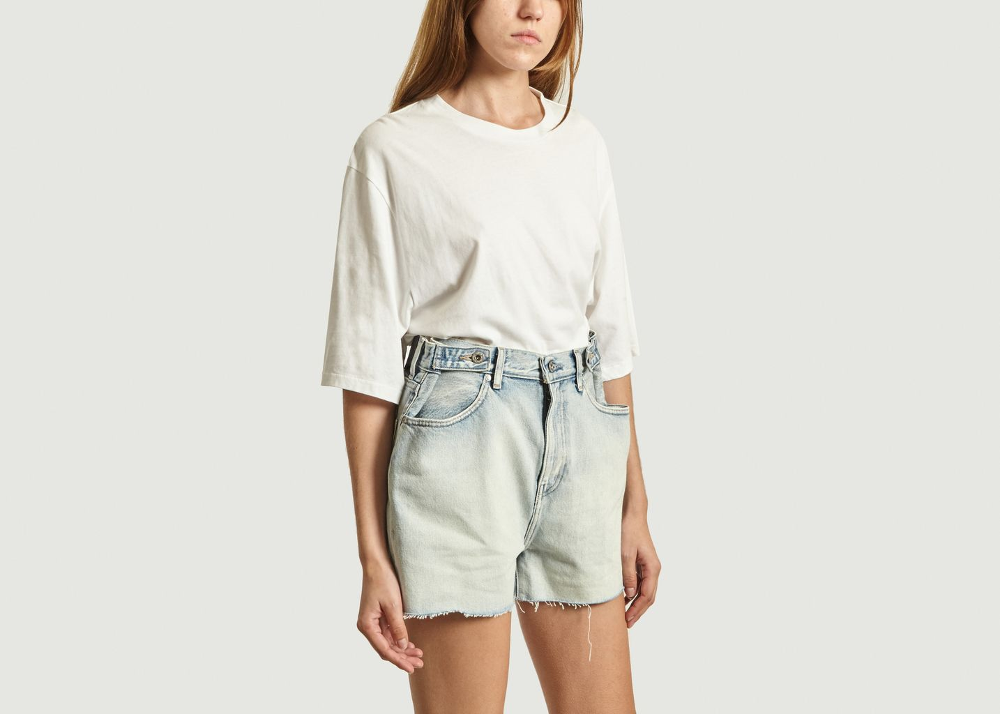 T-Shirt Oversize Manches 3/4 - Levi's Made and Crafted