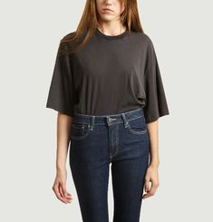 T-Shirt Oversize Manches 3/4