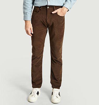 Pantalon en velours côtelé 502