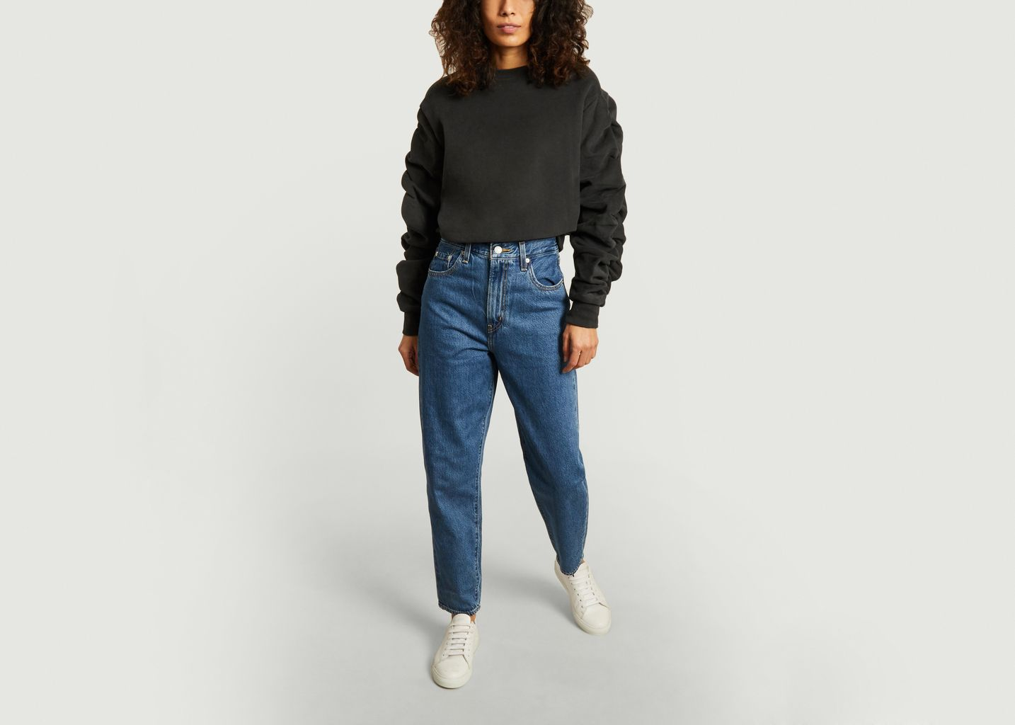 Jean taille haute loose taper - Levi's Red Tab