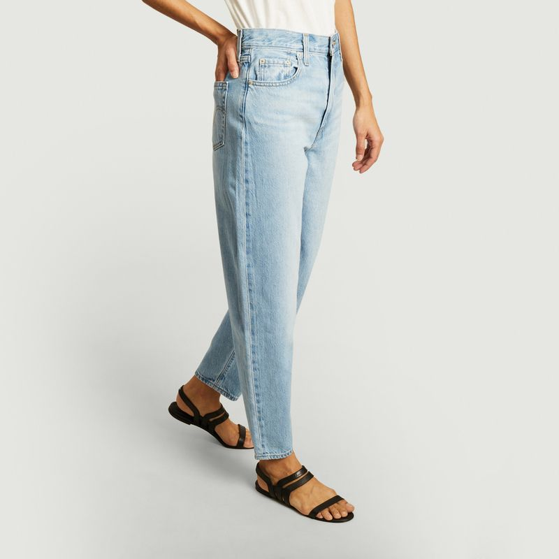 Jean délavé taille haute loose taper - Levi's Red Tab