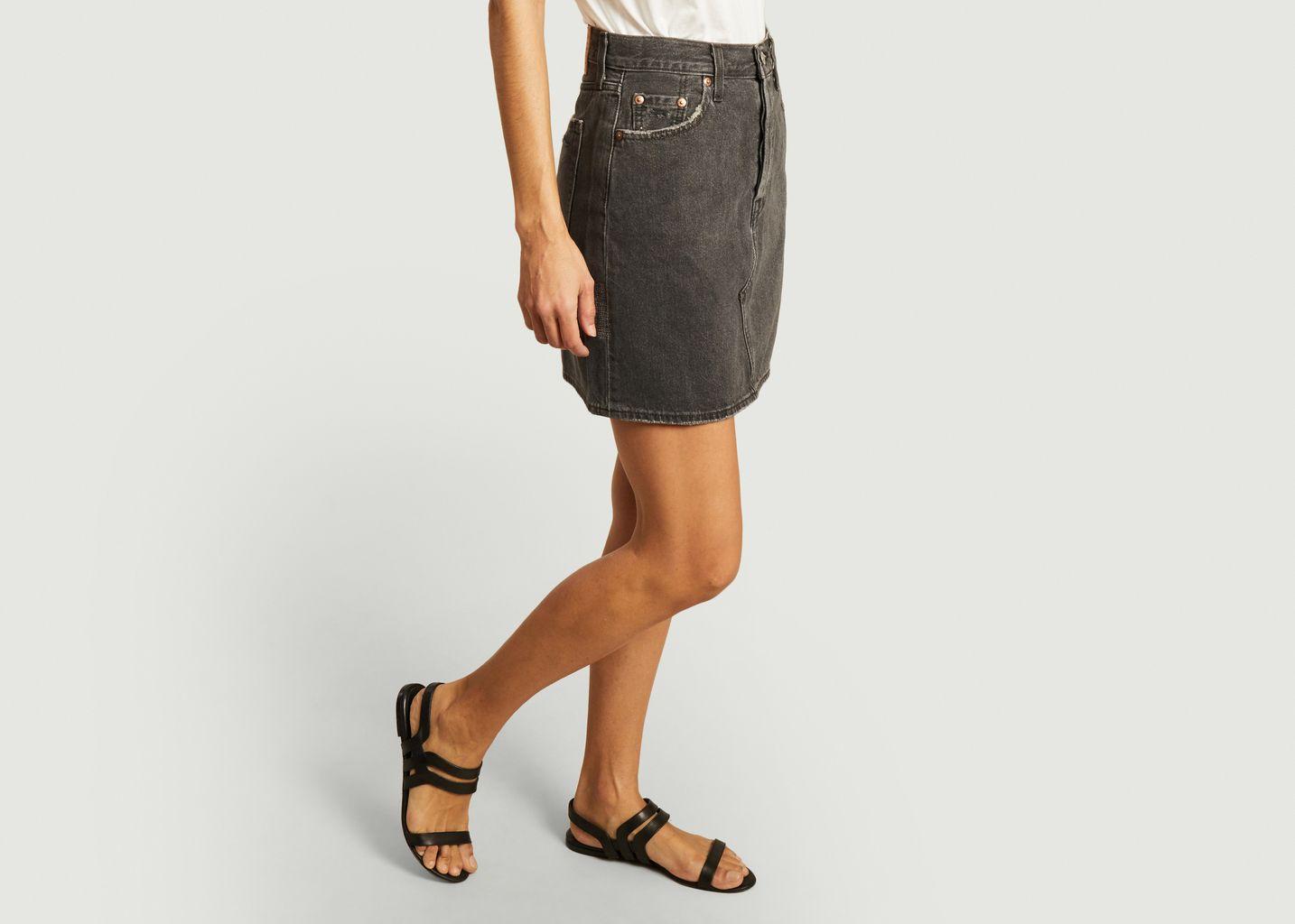 Jupe taille haute en jean teinté - Levi's Red Tab