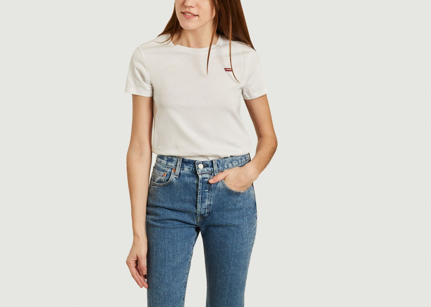 T-shirt en coton Perfect - Levi's Red Tab