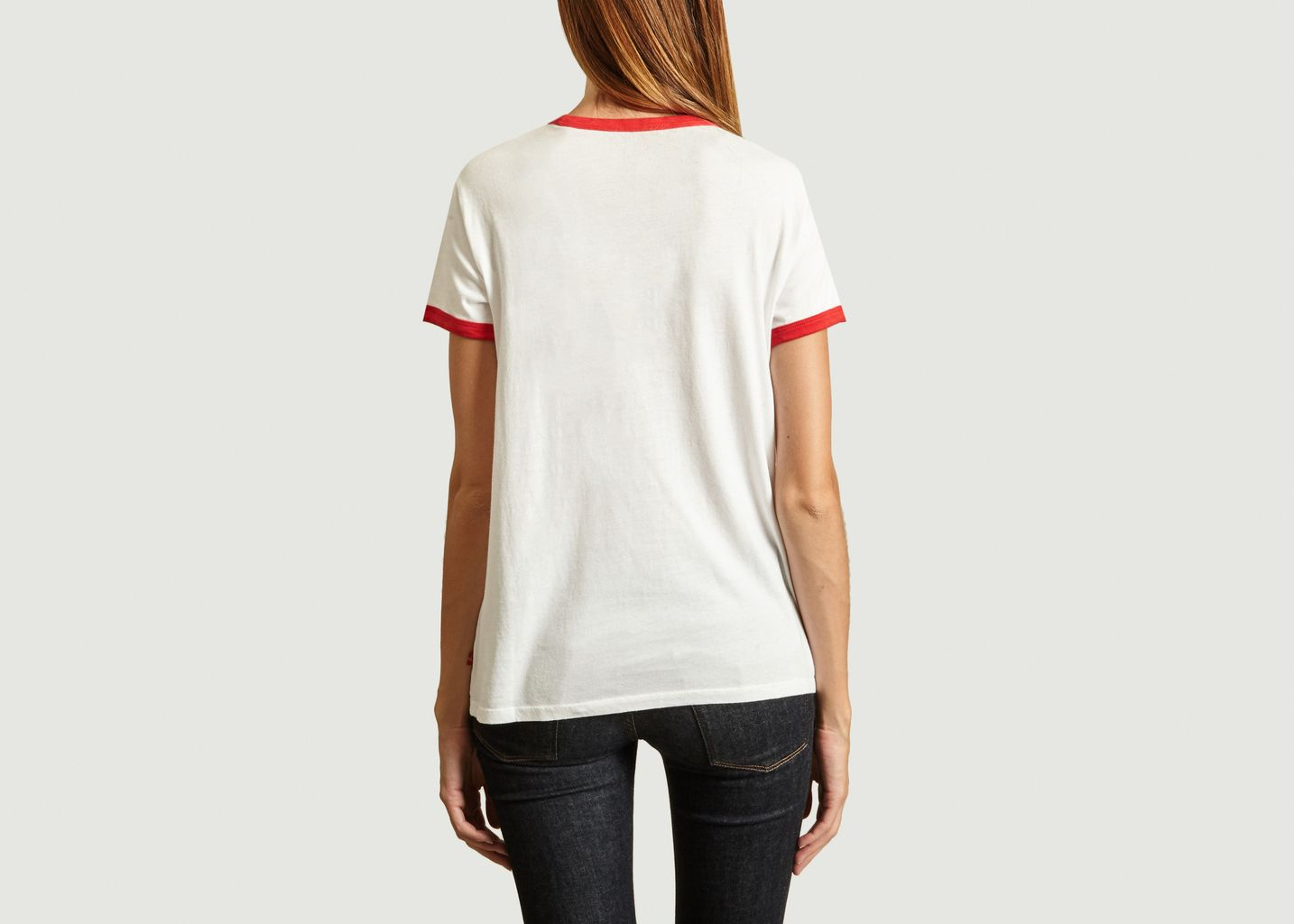 T-shirt Jersey Perfect Ringer - Levi's Red Tab
