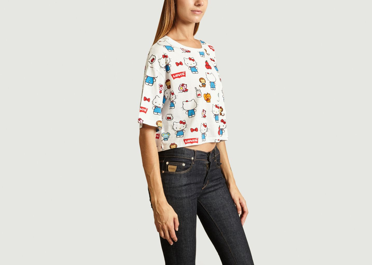 T-shirt Graphic Oversize - Levi's Red Tab