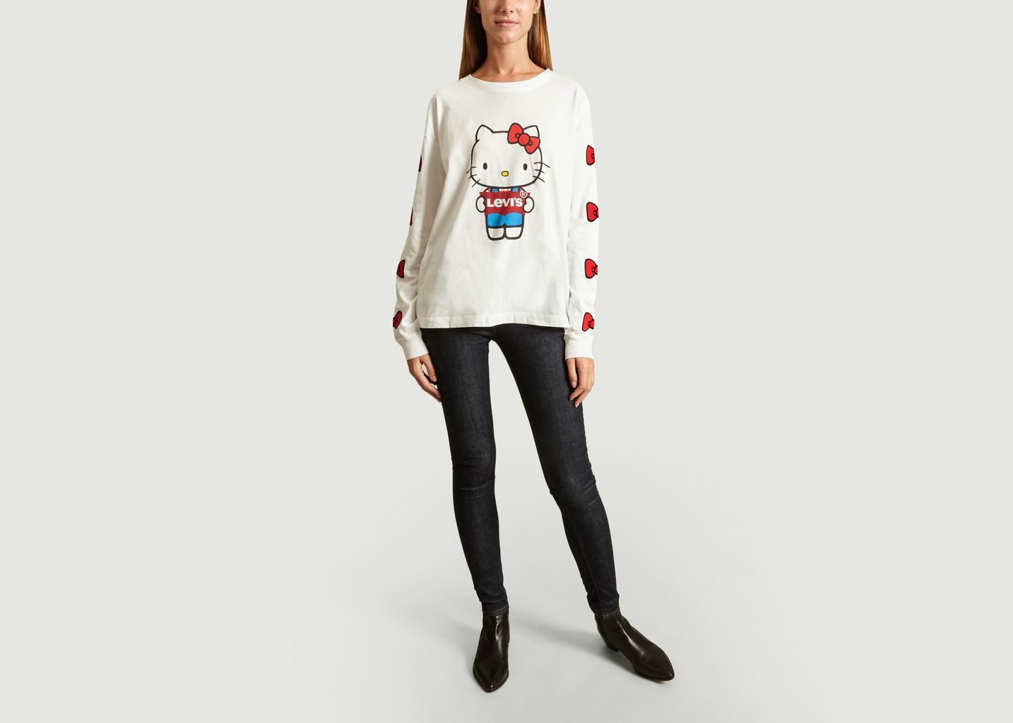 T-Shirt Graphic Oversized - Levi's Red Tab