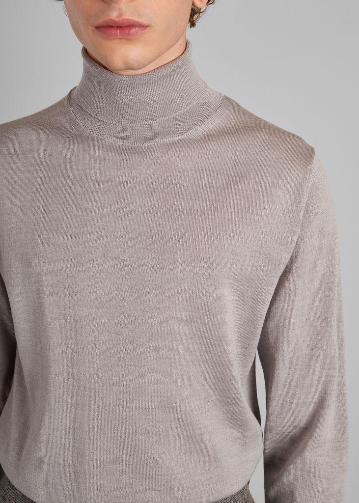 Pull col roulé en laine mérinos - L'Exception Paris