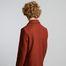 Pardessus droit en laine vierge fabriqué en France - L'Exception Paris